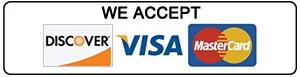 Discover - Visa - Mastercard