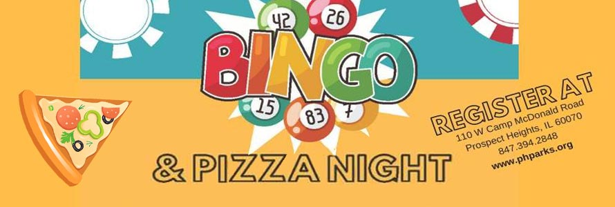 Family Pizza & Bingo Night
