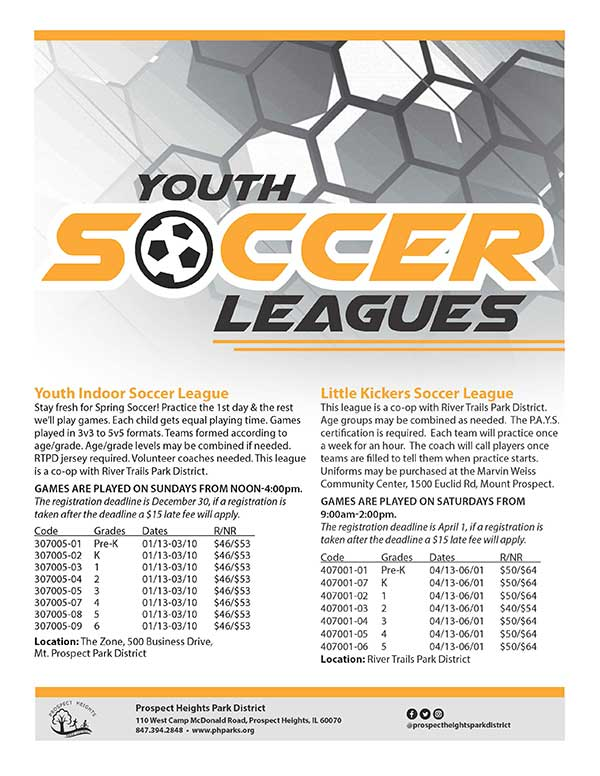 CLICK FOR MORE - Youth Soccer