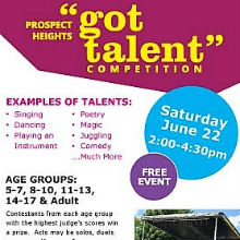 "Prospect Heights ""Got Talent\"" Competition"