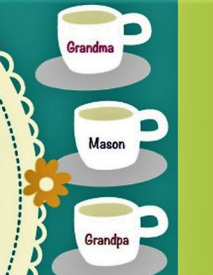 Grandparents Day Tea Party