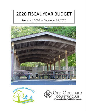 2020 Fiscal Year Budget Document