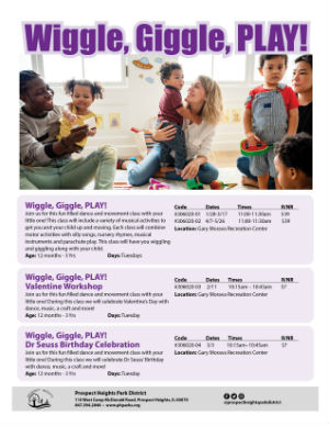 Click here! Wiggle, Giggle, PLAY! flyer