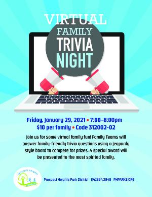Virtual Family Trivia Night