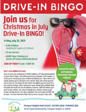 Drive-In Bingo