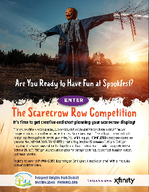 The Scarecrow Row Competition